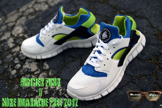 Some Summer Funk // Nike Huarache Free 2012